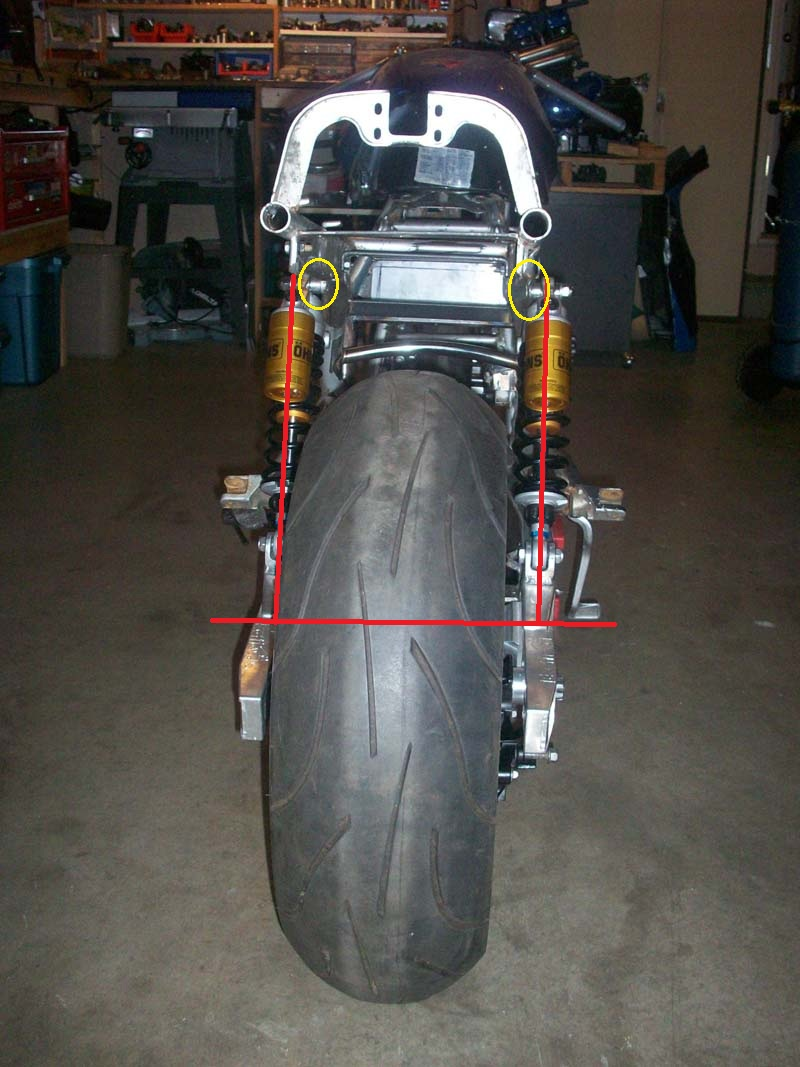 Suzuki Katana Bandit Swing Arm Conversion